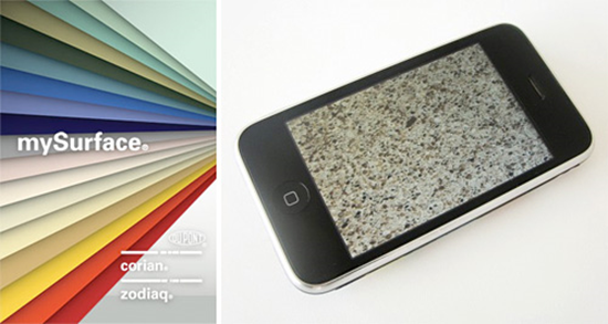 iPhone color matching App - Dupont