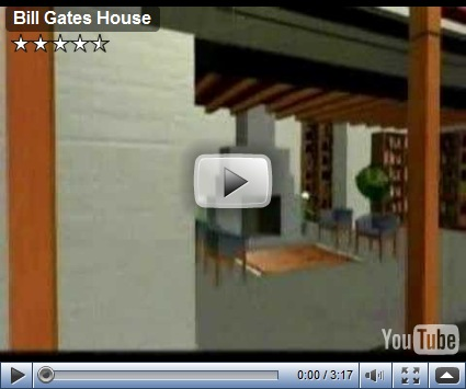 Virtual Tour of Bill Gates House
