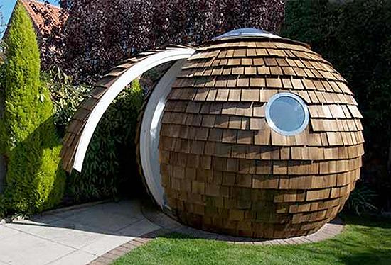 Backyard Dome archipod – dome office   gadgetking