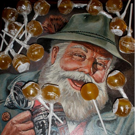 Lollyphile Bourbon Lollipop
