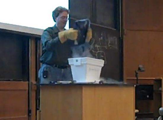 Laptop Liquid Nitrogen