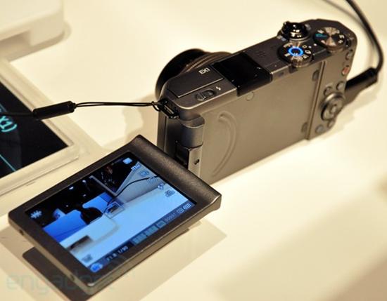 Samsung TL500 LCD