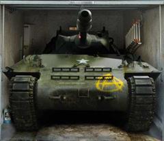 Tank Garage tarpaulin