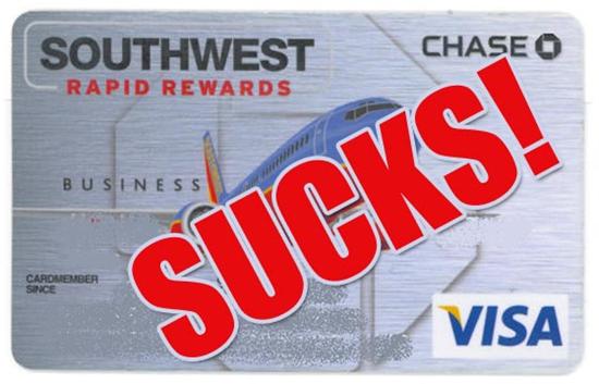 Chase Business Southwest Rapid Rewards Visa Credit Card