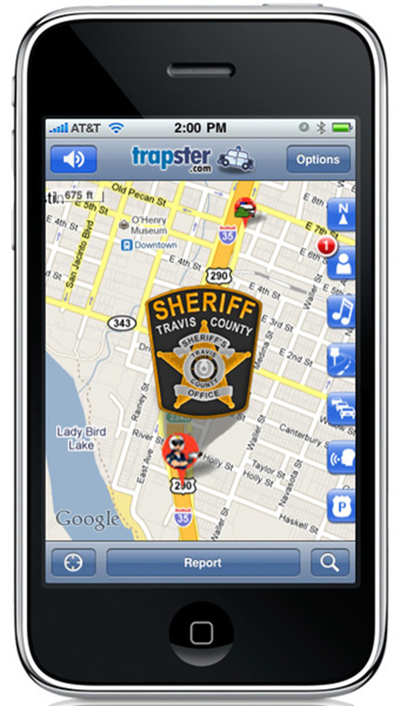 iphone trapster