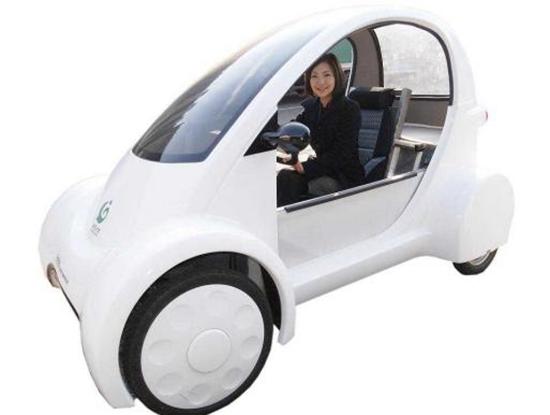 ZMP Electric Robotic Mini Car