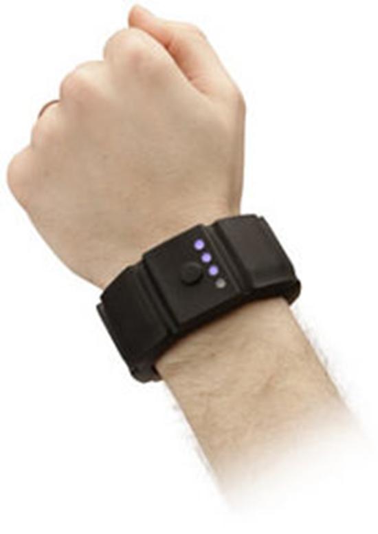 Battery wristband