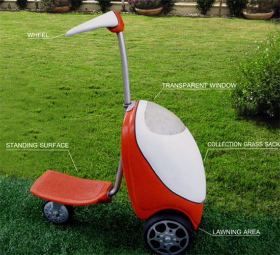 Lawn Mower Scooter