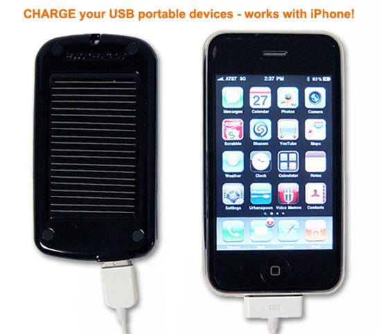 Scosche solbat II iPhone
