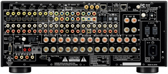 Denon AVR-4810CI Back