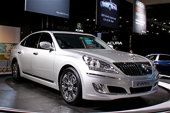 Hyundai Equus Luxury