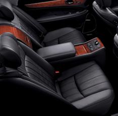 Hyundai Equus Back Seat