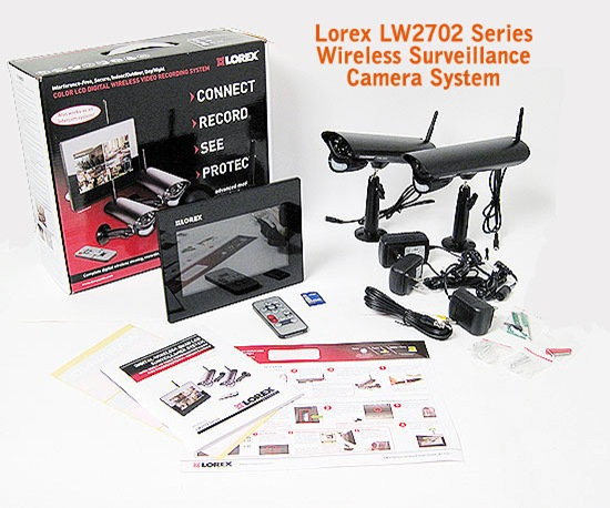 lorex LW 2702 contents