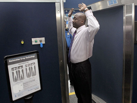 airport x-ray scanners harmful