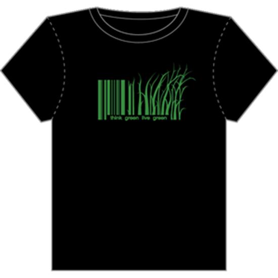 Goodjoe t-shirt think green live green