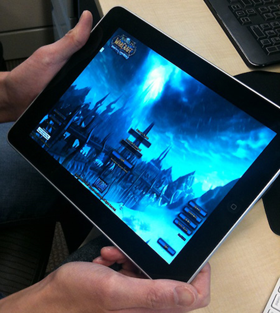 World of Warcraft on iPad