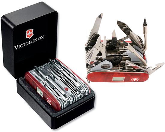Victorinox Swiss Army Swisschamp Xavt Gadgetking Com