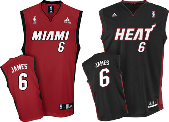 finest selection 05edd e4d57 Get Your LeBron James Miami Heat Jersey | GadgetKing.com