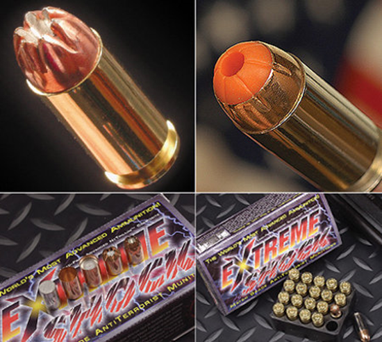 ExtremeShock Anti-Terrorist Ammunition