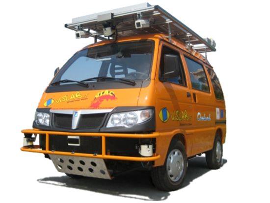 Vislab Autonomous Vans