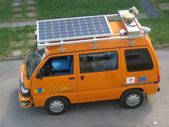 solar autonomous vehicle