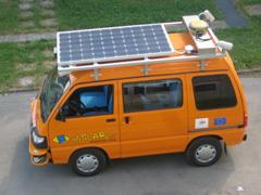 solar autonomous vehicle