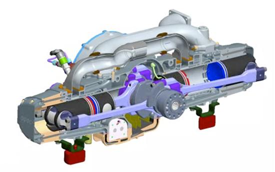 EcoMotors Eco Friendly Engine