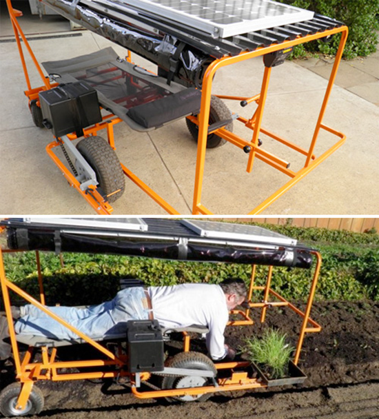 Solar Powered Wunda Weeder