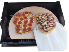 Grilled Pizza Stone