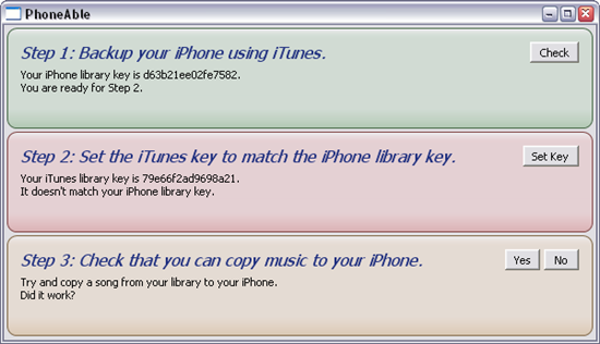 PhoneAble iTunes App