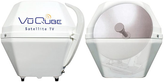 VuQube Portable Satellite Dish