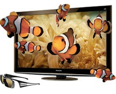 Panasonic 2d to 3d tv