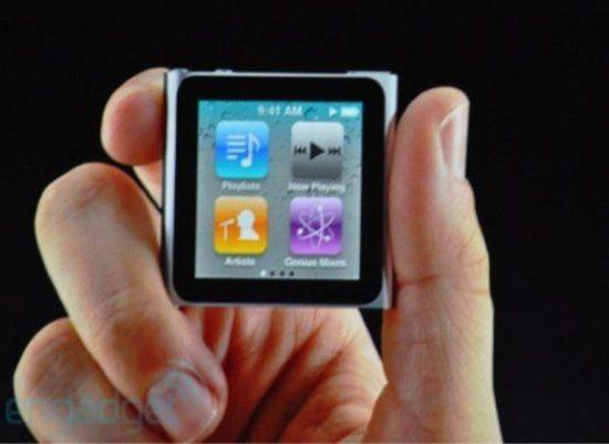 New iPod Nano Touchscreen