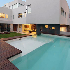 fancy above ground pool