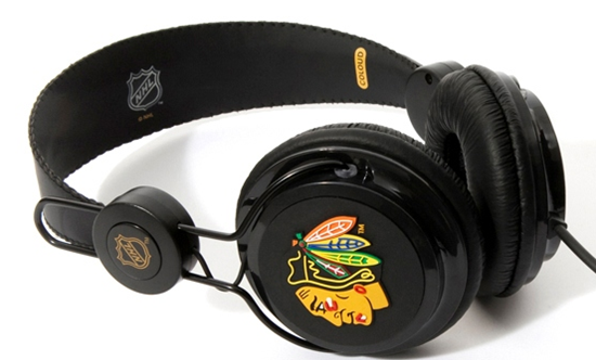 NHL Blackhawks Headphones giveaway