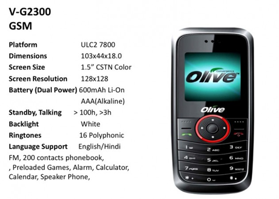 AAA Battery Cell Phone