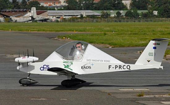 Cri-Cri Solar Plane