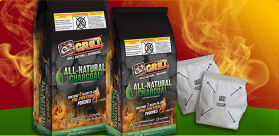 EZ Grill Preportioned Charcoal
