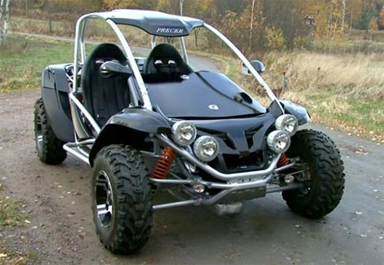 Precer Bioracer Wood Pellet Car