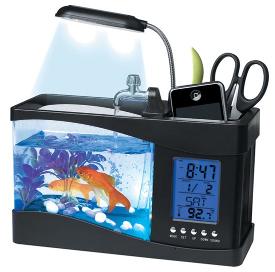 Real USB fish aquarium
