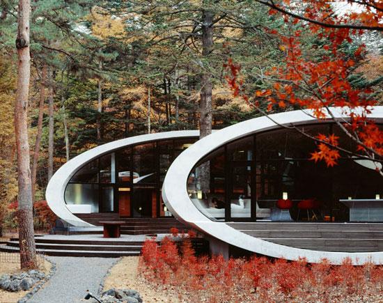 Futuristic Shell House
