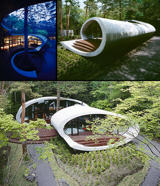 Curved Future House