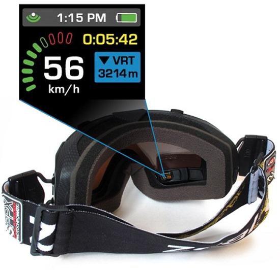 Transcend GPS Goggles