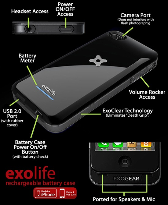 Exolife Exogear Features