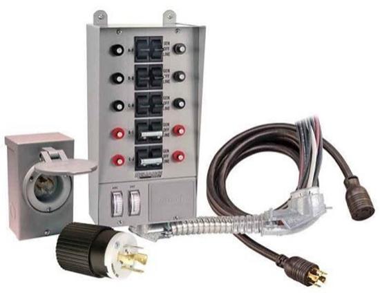 Reliance Controls 31410CRK Generator Transfer Switch