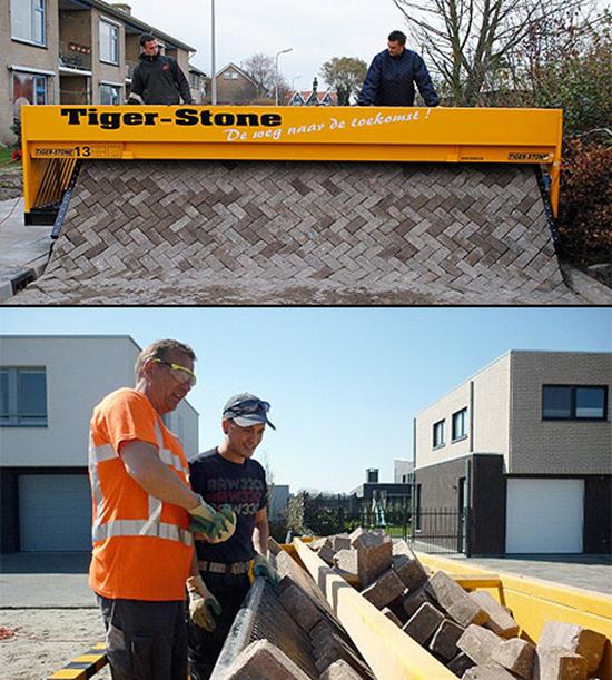 Tiger-Stone Road Builder