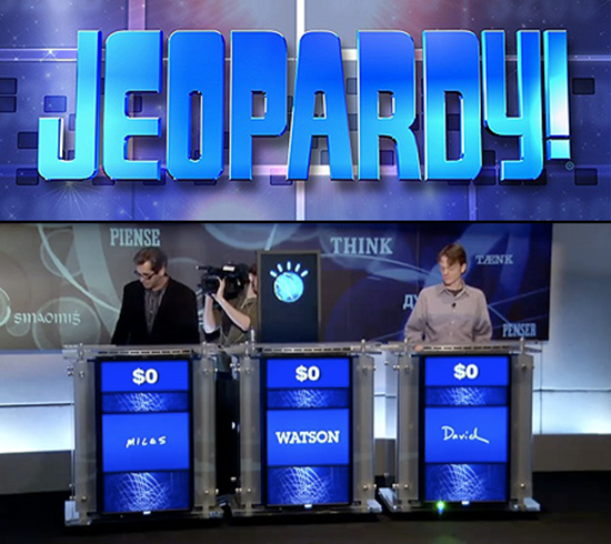 Jeopardy Watson Supercomputer Competes With Humans