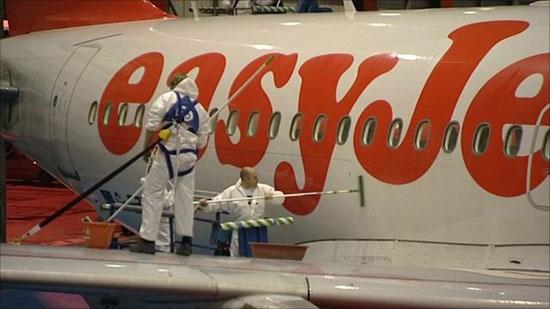 Easyjet Airplane Coating