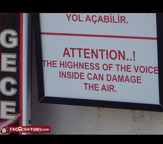 Highness of the voice