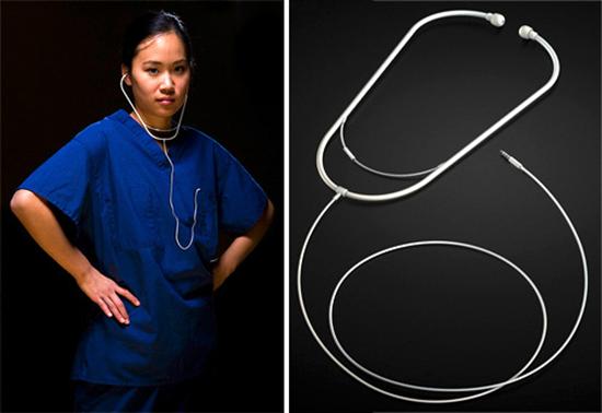 Stetheadphone Stethoscope headphones